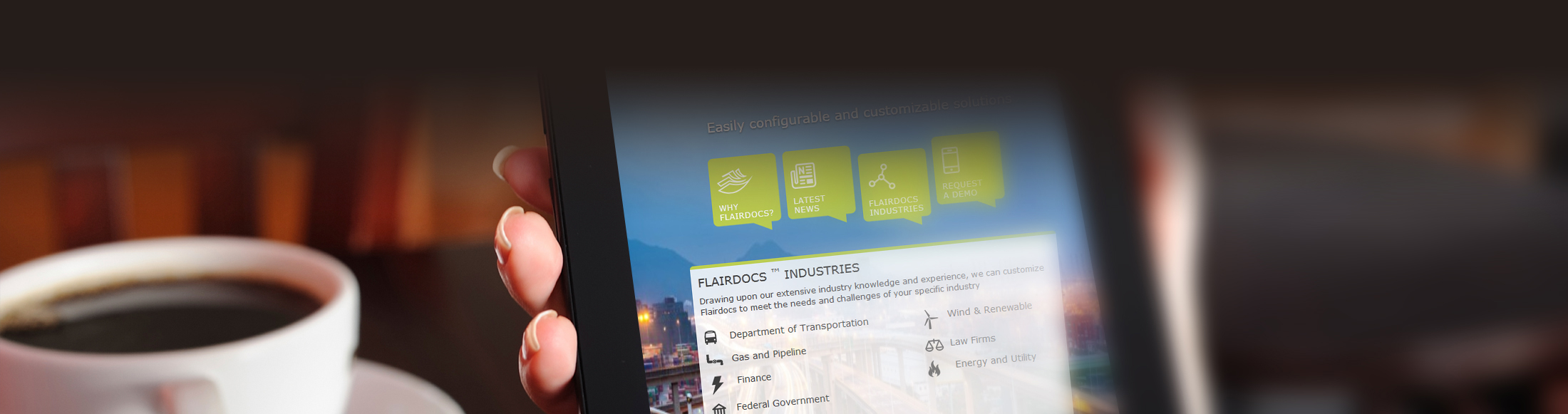 Get all news and updates of Flairdocs - Right of way management, property management